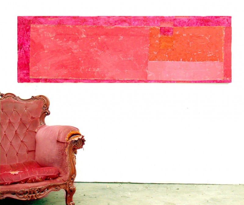 Color Field painting by contemporary artist Hester van Dapperen