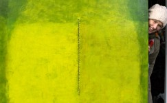 Color Field painting by contemporary visual artist Hester van Dapperen