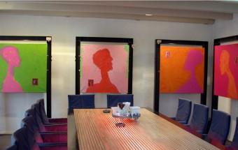 Profiles Exhibition at De Tafel van Muiden