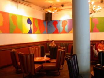 Profile project in café 't Schuim, Amsterdam