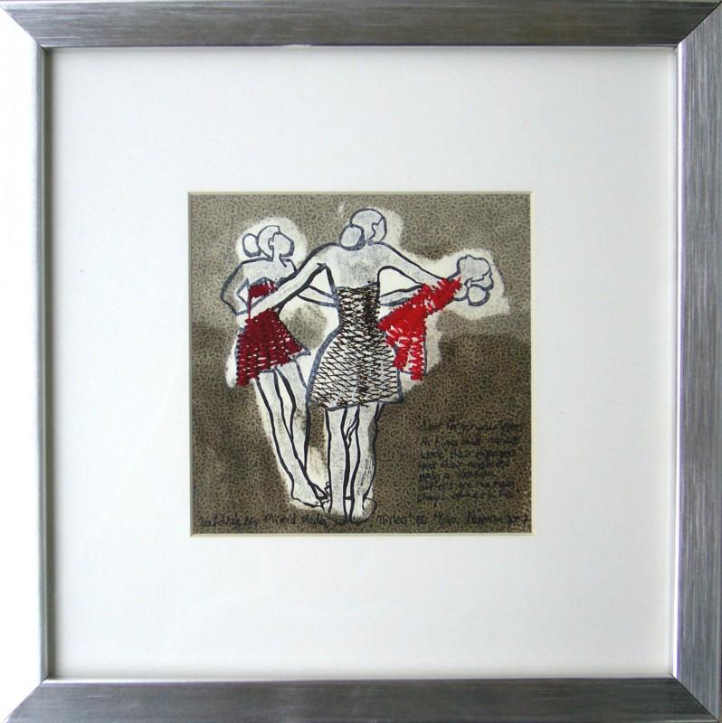 Graphic Art: Sisters, 28 x 28 cm