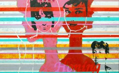 Pop Art painting by contemporary visual artist Hester van Dapperen