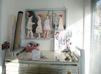 Studio Contemporary visual artist Hester van Dapperen