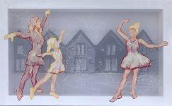 Transparent painting made by Contemporary artist Hester van Dapperen